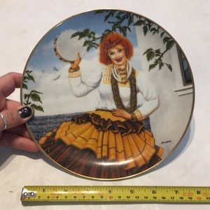 Queen of the Gypsies decorative Plate I Love Lucy